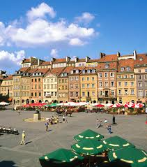 Direct Flights to Warsaw, Poland